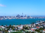Skyline of Auckland, New Zealand as seen from Devonport. Copyright Cornelia Kaufmann