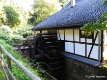 The water wheel at the Balkhauser Kotten. Copyright Cornelia Kaufmann