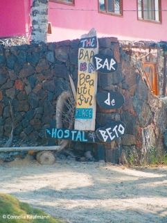 Casa Iguana and Bar de Beto. The Bar is a beautiful place. Copyright Cornelia Kaufmann