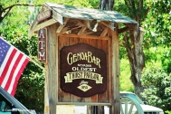 Sign for the Genoa Bar & Saloon. Copyright Cornelia Kaufmann