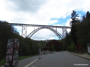 The Müngsten Bridge, Germany's highest railway bridge. Copyright Cornelia Kaufmann