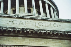 Detail on El Capitolio. Copyright Cornelia Kaufmann