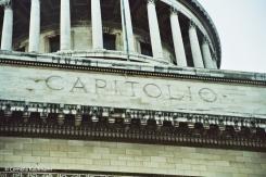 Detail on El Capitolio. Copyright Cornelia Kaufmann