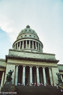 The Capitolio Building in Havana. Copyright Cornelia Kaufmann