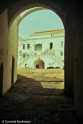 Courtyard of Cape Coast Castle as seen from the Door of No Return. Copyright Cornelia Kaufmann