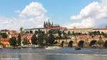 Prague Castle and Vltava river. Copyright Cornelia Kaufmann