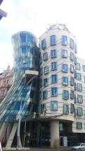 The Dancing House, also known as the Fred & Ginger House in Prague. Copyright Cornelia Kaufmann