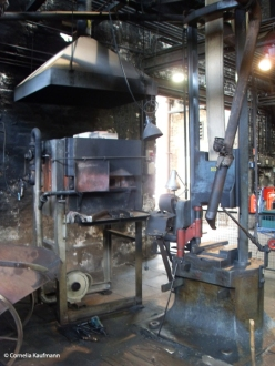 The Hendrichs Drop Forge (Gesenkschmiede Hendrichs) in Solingen is the Industrial Museum and part of the European Route of Industrial Heritage. Copyright Cornelia Kaufmann