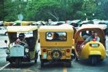 """Egg Taxis"" in Havana, Cuba. Copyright Cornelia Kaufmann"