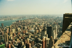View from the Empire State Building. Copyright Cornelia Kaufmann