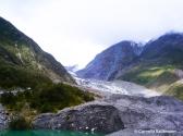 Terminal face of Fox Glacier in 2003. Copyright Cornelia Kaufmann