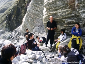 Group on Fox Glacier. Copyright Cornelia Kaufmann