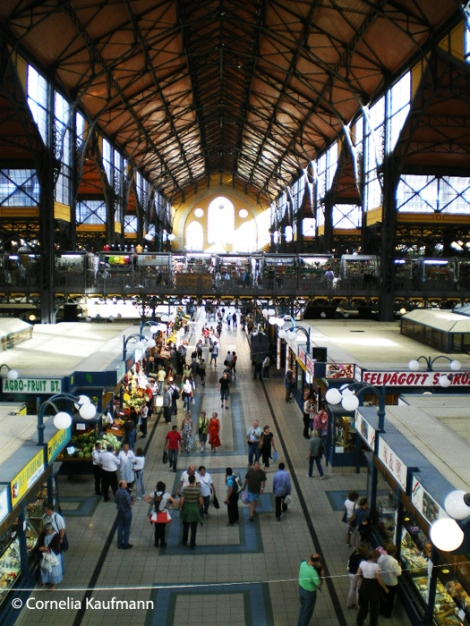 Budapest Great Market Hall. Copyright Cornelia Kaufmann