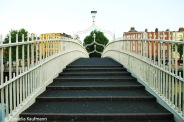 Ha'penny Bridge. Copyright Cornelia Kaufmann