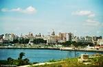 Havana Skyline seen from Castillo de los Tres Reyes Morro. Copyright Cornelia Kaufmann