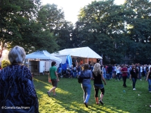 Setting up for a Jugendkulturfestival in Solingen. Copyright Cornelia Kaufmann