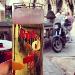 Früh Kölsch in a 0.2ml glass. Copyright Cornelia Kaufmann