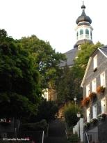 The Klosterkirche (convent church) overlooking the suburb of Gräfrath. Copyright Cornelia Kaufmann