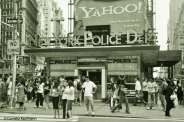 NYPD at Times Square, New York. Copyright Cornelia Kaufmann