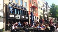 Papa Joe's, a Gaffel Kölsch affiliated pub at the Alter Markt. Copyright Cornelia Kaufmann
