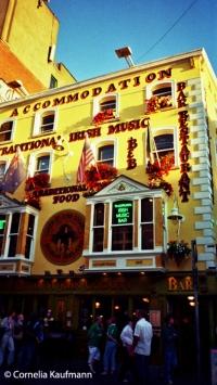 The Oliver St. John Gogarty Pub in Dublin's Temple Bar district. Copyright Cornelia Kaufmann
