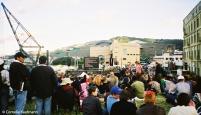 Get-together along the waterfront next to Te Papa. Copyright Cornelia Kaufmann