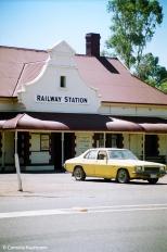Quorn Railway Station. Copyright Cornelia Kaufmann