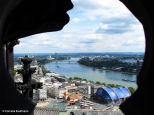 View from the top of Cologne Cathedral to the north. Copyright Cornelia Kaufmann