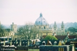Oxford, Rooftops, Dreaming Spires, Radcliffe Camera. Copyright Cornelia Kaufmann