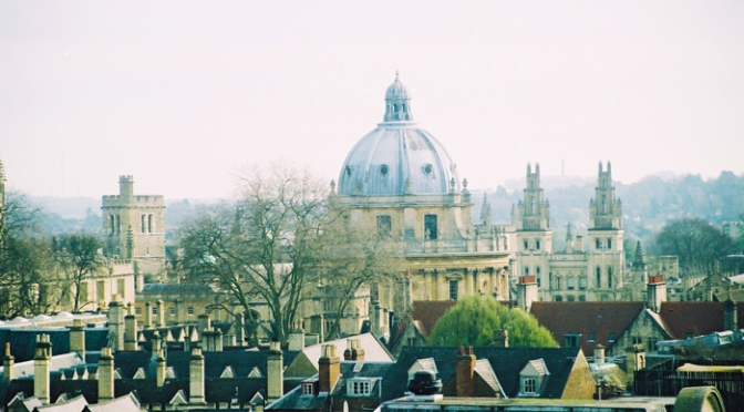 About (not) getting lost in Oxford