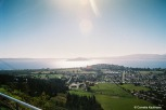 View of Rotorua and Lake Rotorua from the summit station of the Gondola. Copyright Cornelia Kaufmann