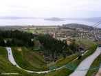 The Rotorua summer luge, which is accessible from the gondola's summit station. Copyright Cornelia Kaufmann