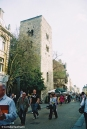 The Saxon Tower is over 1.000 years old. Copyright Cornelia Kaufmann