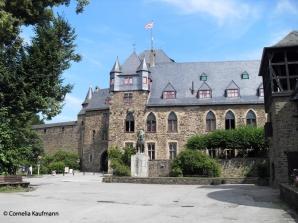 The Palais of Schloss Burg in Burg an der Wupper / Solingen. Copyright Cornelia Kaufmann