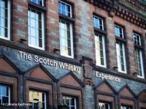 The Scotch Whisky Heritage Experience on the Upper Royal Mile. Copyright Cornelia Kaufmann
