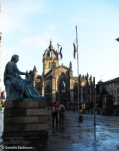 St Giles Cathedral on the Royal Mile. Copyright Cornelia Kaufmann