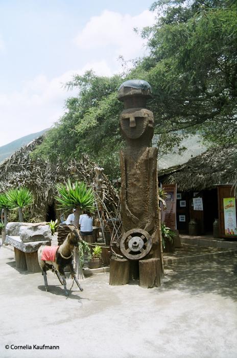 Inside the Intiñan museum. Copyright Cornelia Kaufmann