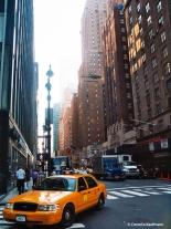 Manhattan street scene. Copyright Cornelia Kaufmann