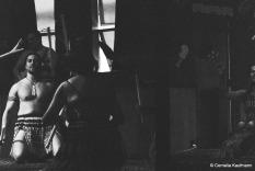 Maori performance at Te Puia Marae. Copyright Cornelia Kaufmann