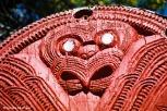 Maori tiki at Te Puia. Copyright Cornelia Kaufmann
