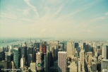 View towards the Upper West Side and Central Park from the Empire State Building. Copyright Cornelia Kaufmann
