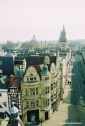 View from the Carfax Tower down The High. Copyright Cornelia Kaufmann
