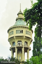 Water Tower on Margaret Island. Copyright Cornelia Kaufmann
