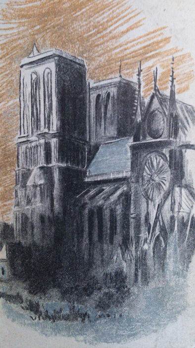 Cover of a 1950s version of Victor Hugo's Hunchback of Notre Dame
