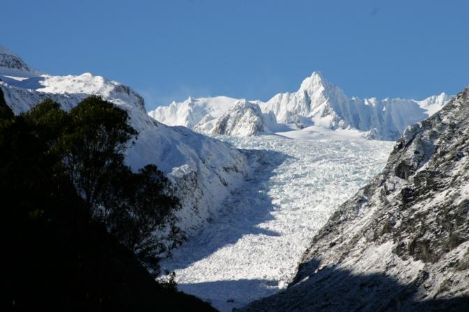 The Eternal Ice of Fox Glacier
