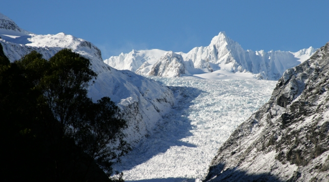 The Eternal Ice of Fox Glacier