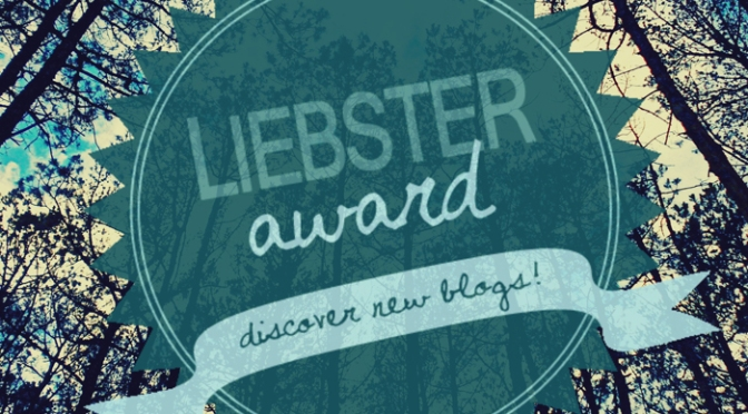 Liebster Award for Study.Read.Write!