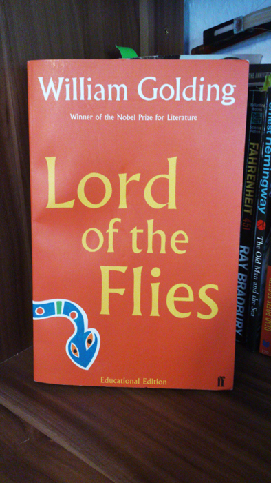 My school copy of The Lord of the Flies