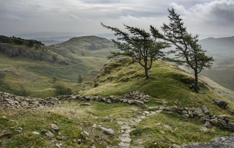 Track to Wetherlam, above the old mines of Tilberthwaite, North Yorkshire, England. Photo by Terry Roberts / bingleyman2 Flickr