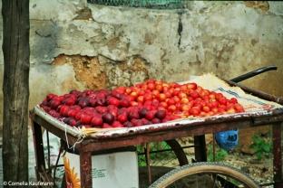 CK Fruit cart Stone Town